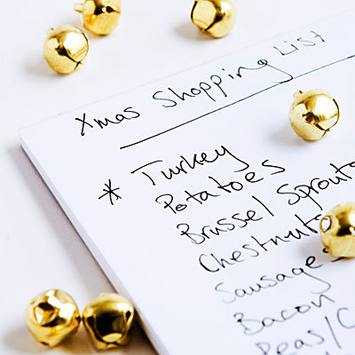 Xmas Shopping List